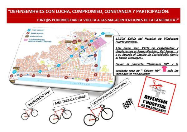 2013.09.06 DEFENSEMHVICS - CARTEL REIVINDICA EN LA VUELTA CICLISTA
